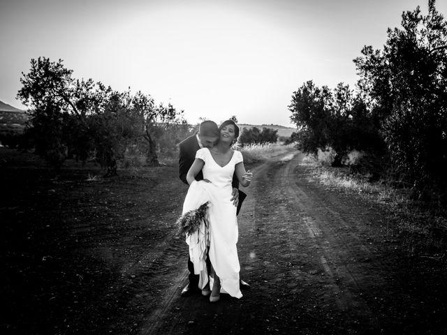 La boda de Antonio y María del Carmen en La Parra, Badajoz 1