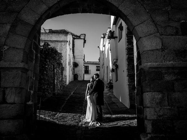 La boda de Antonio y María del Carmen en La Parra, Badajoz 51