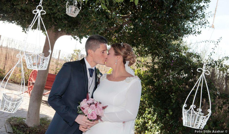 La boda de Rocío y Pedro en Carmona, Sevilla