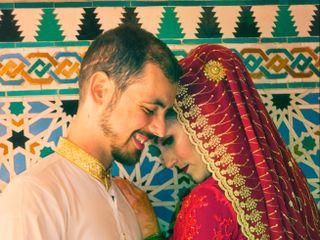 La boda de Fátima y Issam 1