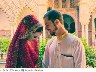 La boda de Fátima y Issam 2