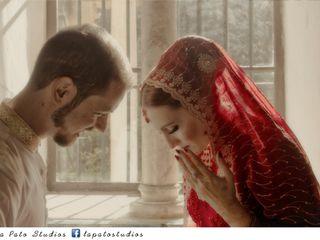 La boda de Fátima y Issam