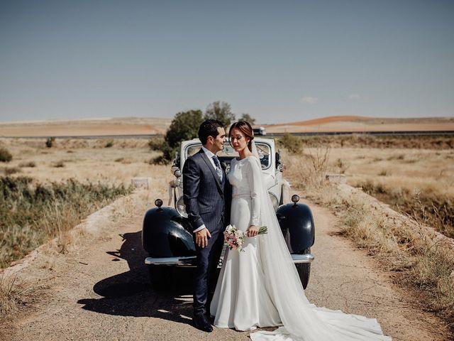 La boda de Carlos y Maite en Ballesteros De Calatrava, Ciudad Real 55