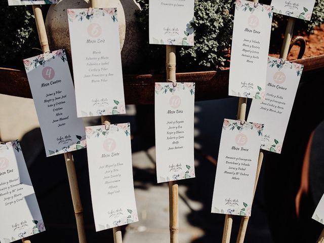 La boda de Carlos y Maite en Ballesteros De Calatrava, Ciudad Real 61