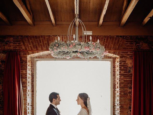 La boda de Carlos y Maite en Ballesteros De Calatrava, Ciudad Real 65