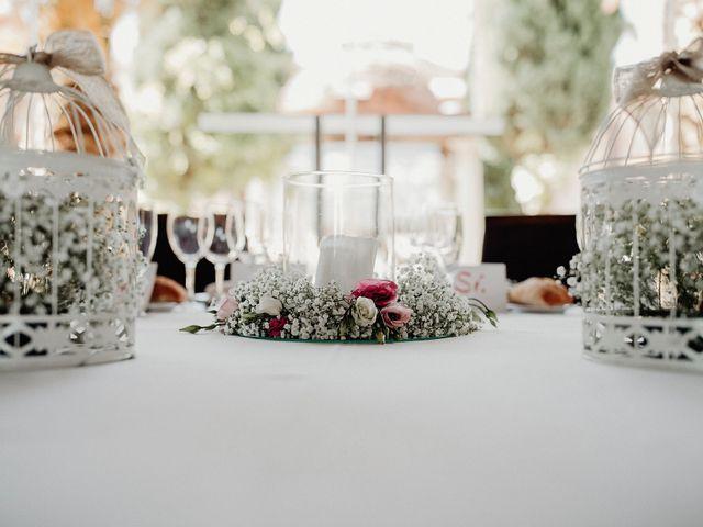 La boda de Carlos y Maite en Ballesteros De Calatrava, Ciudad Real 68