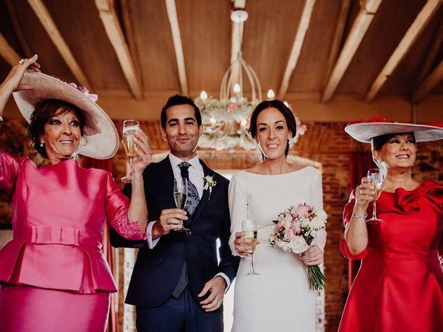 La boda de Carlos y Maite en Ballesteros De Calatrava, Ciudad Real 80
