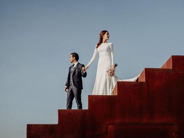 La boda de Carlos y Maite en Ballesteros De Calatrava, Ciudad Real 90