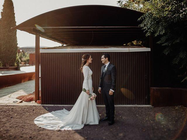 La boda de Carlos y Maite en Ballesteros De Calatrava, Ciudad Real 91