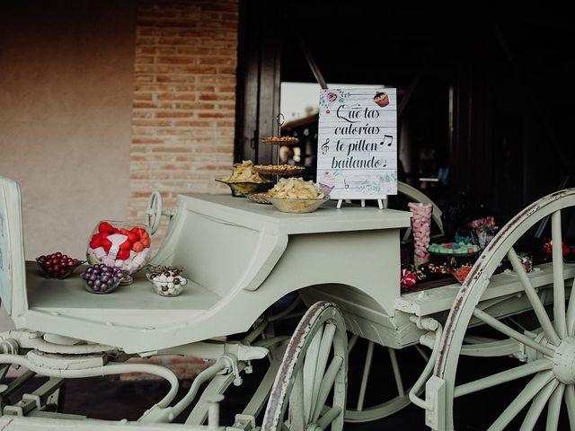 La boda de Carlos y Maite en Ballesteros De Calatrava, Ciudad Real 106