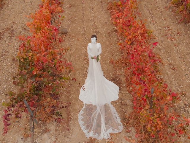 La boda de Alberto y Paula en Valoria La Buena, Valladolid 10