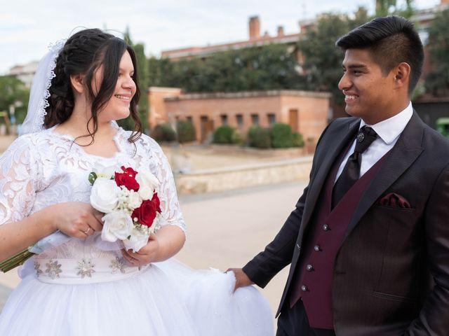 La boda de Rodrigo y Zuraday en La Selva Del Camp, Tarragona 25