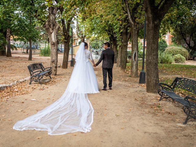 La boda de Rodrigo y Zuraday en La Selva Del Camp, Tarragona 35