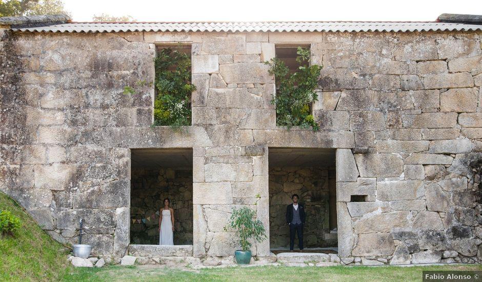 La boda de Pablo y Laura en Gondomar, Pontevedra