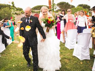 La boda de Manuel y Natalie