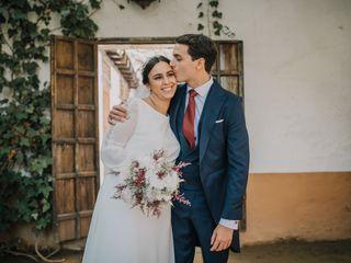 La boda de Andrés y Inmaculada