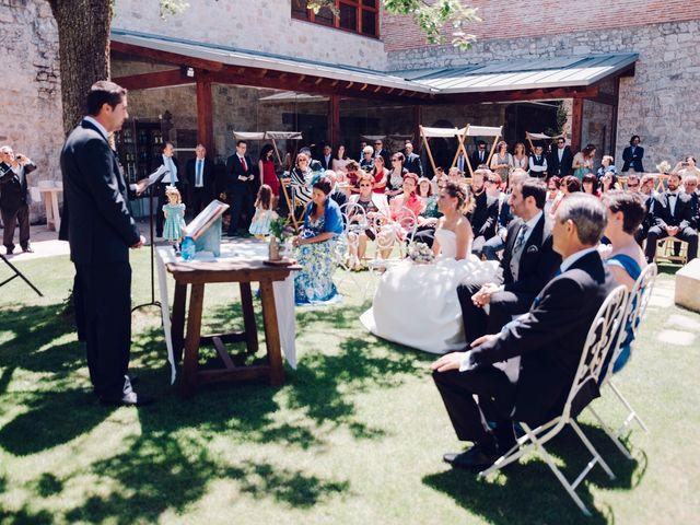 La boda de David y Bea en Huermeces, Burgos 28