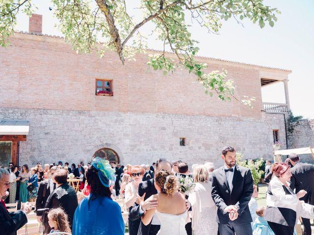 La boda de David y Bea en Huermeces, Burgos 33