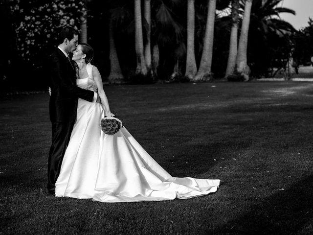 La boda de Enrique y Monica en El Puig, Valencia 1