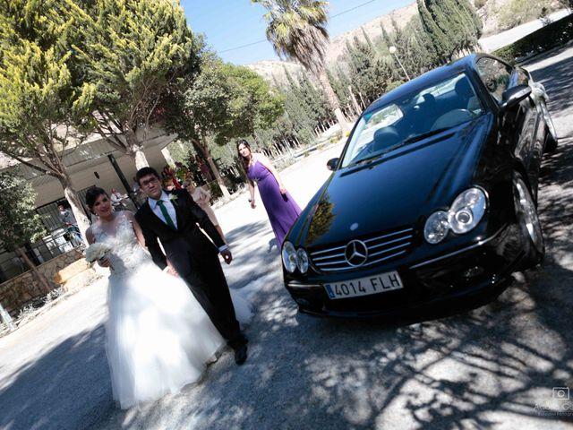 La boda de Juan Carlos y Lorena en Olula Del Rio, Almería 27