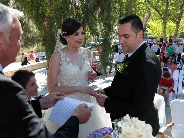 La boda de Juan Carlos y Lorena en Olula Del Rio, Almería 35