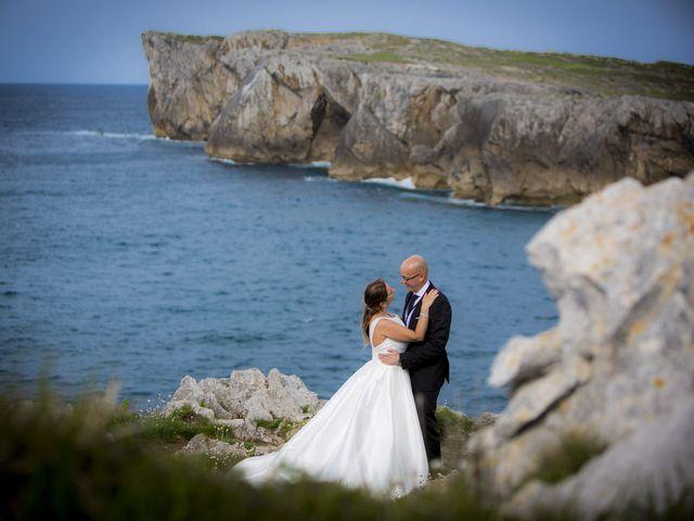 La boda de Abel  y Ruth  en El Pito, Asturias 17