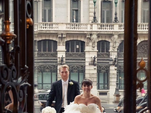 La boda de Lorraine y Mark