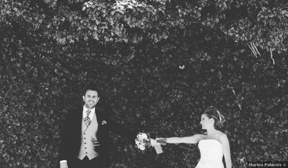 La boda de David y Bea en Huermeces, Burgos