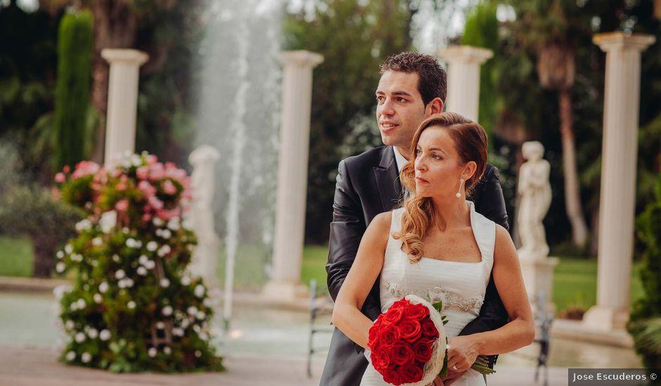 La boda de Enrique y Monica en El Puig, Valencia