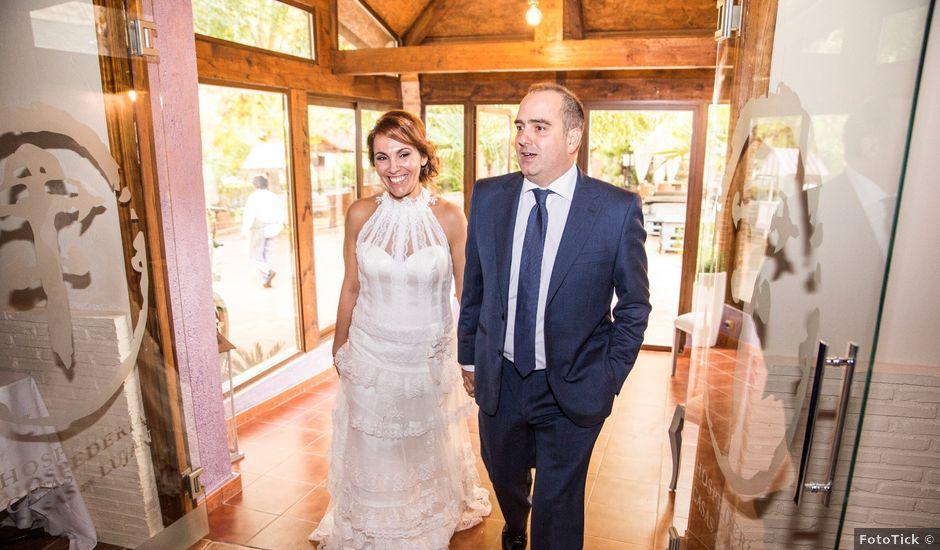 La boda de Javier y Maria Eugenia en Saelices, Cuenca