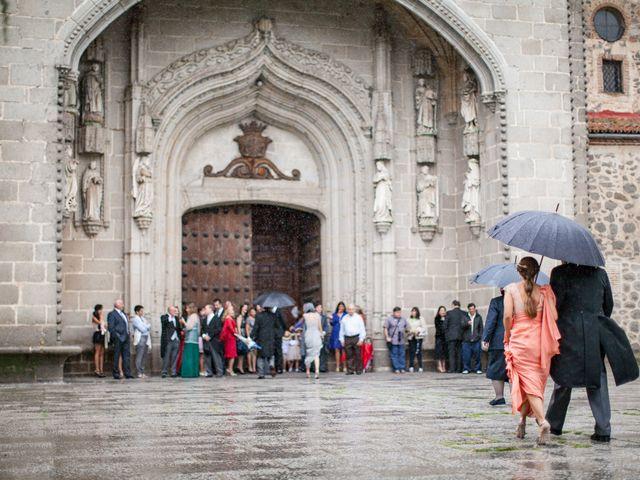 La boda de Quique y Isa en Ávila, Ávila 16
