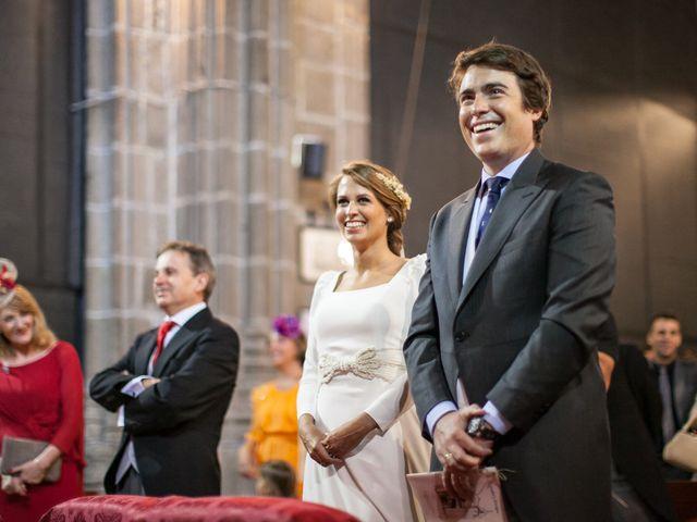 La boda de Quique y Isa en Ávila, Ávila 21