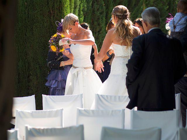 La boda de Blanca y Bea en Llinars Del Valles, Barcelona 41