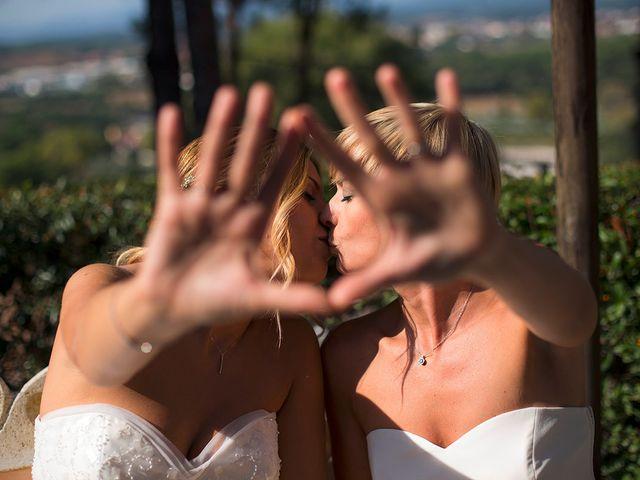 La boda de Blanca y Bea en Llinars Del Valles, Barcelona 45