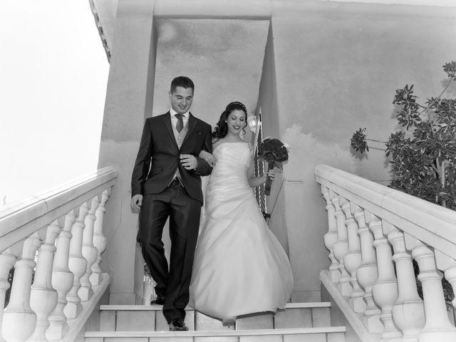 La boda de Antonio y Rocio en Rioja, Almería 14
