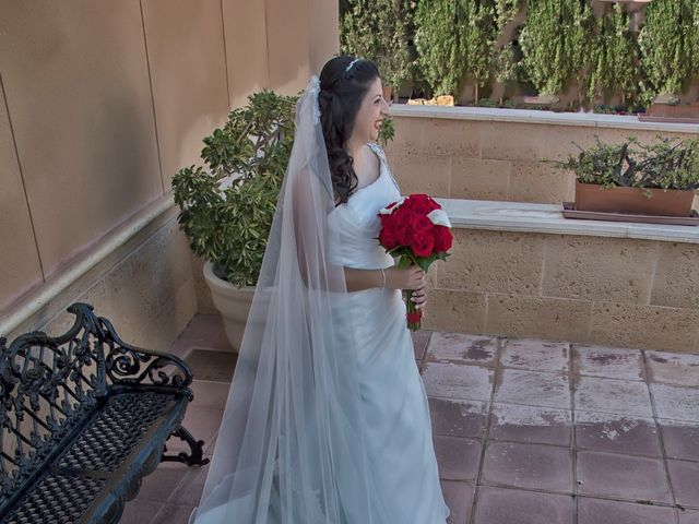 La boda de Antonio y Rocio en Rioja, Almería 15