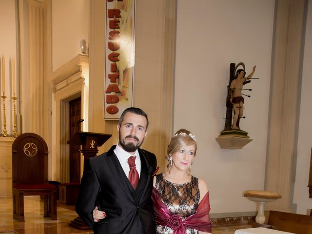 La boda de Antonio y Rocio en Rioja, Almería 28