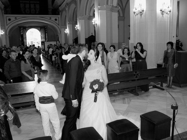 La boda de Antonio y Rocio en Rioja, Almería 30