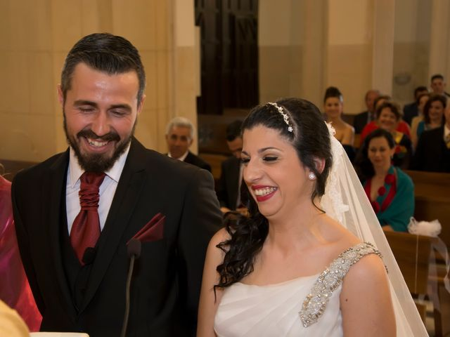 La boda de Antonio y Rocio en Rioja, Almería 33