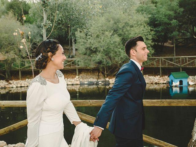 La boda de Jesús y Celia en Villarrubia De Los Ojos, Ciudad Real 54