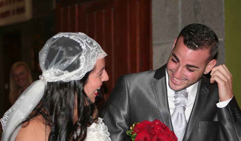 La boda de Daila y Samuel en Las Rosas (Vecindario), Las Palmas