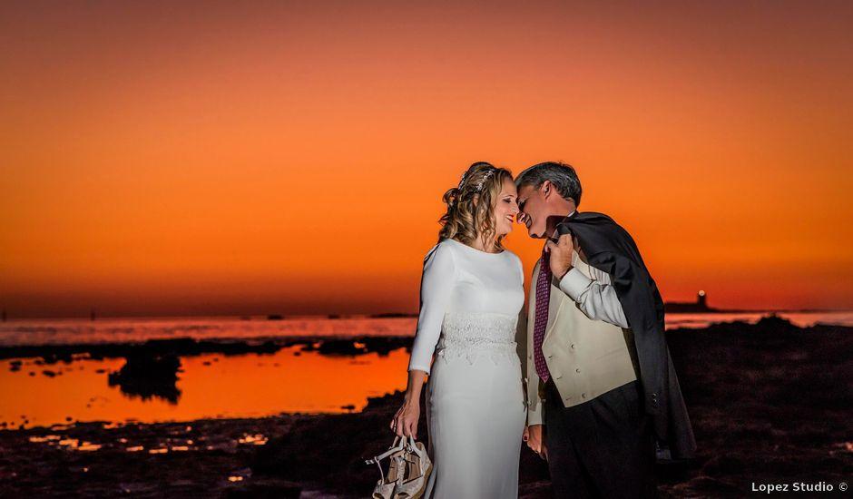 La boda de Manuel y Inmaculada en La Cierva, Cádiz