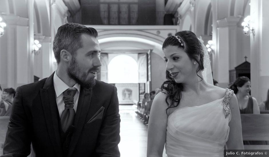 La boda de Antonio y Rocio en Rioja, Almería