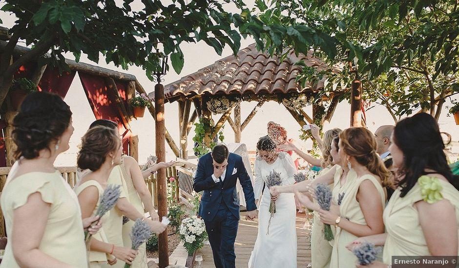 La boda de Jesús y Celia en Villarrubia De Los Ojos, Ciudad Real