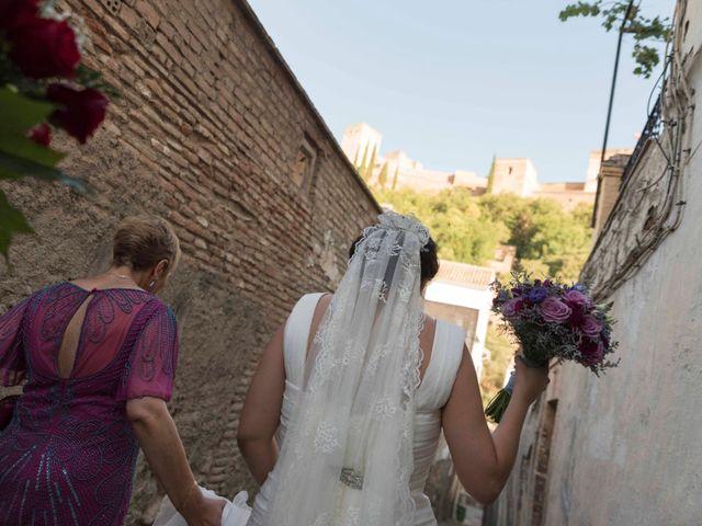 La boda de Rafa y Almudena en Granada, Granada 17