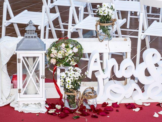 La boda de Jose Angel y Ana Isabel en Archena, Murcia 1