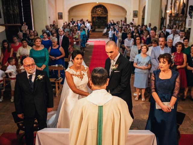 La boda de Rubén y Alba en Huete, Cuenca 68