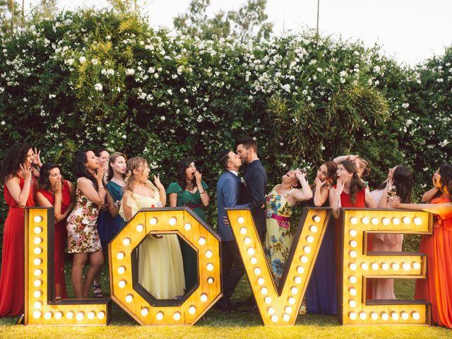 La boda de Alessio y Daniel