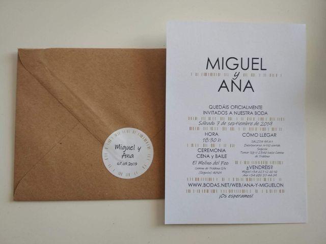La boda de Miguel y Ana en Ventosilla Y Tejadilla, Segovia 3
