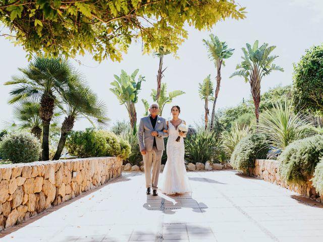 La boda de Nahuel y Yolanda en Cala De San Vicente Ibiza, Islas Baleares 45